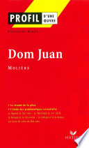 Profil   Moli  re   Dom Juan