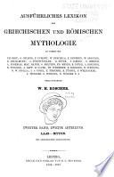 Ausf  hrliches Lexicon der griechischen und r  mischen Mythologie  bd   1 abt  Iache Kyzikos  1890 1894