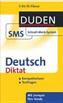 Deutsch - Diktat
