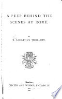 A Peep Behind The Scenes At Rome