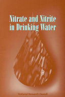 Nitrate And Nitrite In Drinking Water