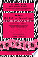 Autism  Hot Pink and Zebra Striped