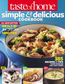 Taste Of Home Simple Delicious Cookbook All New Edition