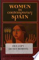 Women in Contemporary Spain