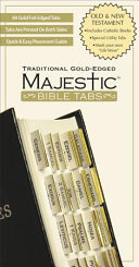 Majestic Traditional Gold Edged Tabs