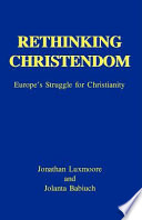 Rethinking Christendom