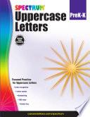 Uppercase Letters Grades Pk K