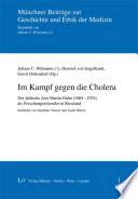 Im Kampf gegen die Cholera