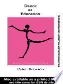 Dance As Education