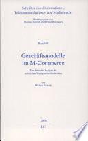 Geschäftsmodelle im M-Commerce