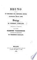 Bruno, ossia un discorso sul principio divino e naturale delle cose. Dialago di F. Schelling voltato in Italiano dalla Marchesa F. Waddington. Aggiuntavi una prefazione di T. Mamiani Pdf/ePub eBook