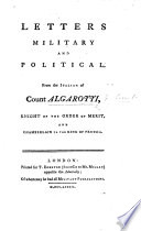 Letters Military and Political  from the Italian of Count Algarotti