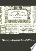 Musikpädagogische Blatter ...
