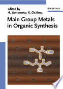 Main Group Metals In Organic Synthesis book