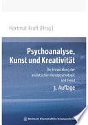 Psychoanalyse  Kunst und Kreativit  t