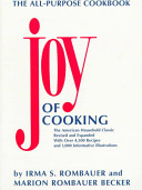 . Joy of Cooking .