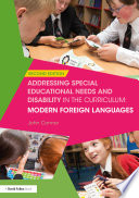 Addressing Special Educational Needs and Disability in the Curriculum  Modern Foreign Languages