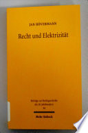 Recht und Elektrizität