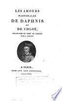 Les amours pastorales de Daphnis et de Chloé