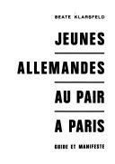 Jeunes Allemandes au pair à Paris