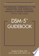 DSM 5 Guidebook