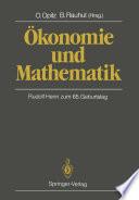 konomie und Mathematik