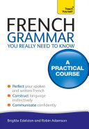 French Grammar You Really Need To Know  Teach Yourself