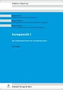 Das institutionelle Recht der Europäischen Union