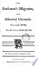 THE GENTLEMAN S MAGAZINE  AND HIFTORICALE CHRONICLE VOLUME XVIII