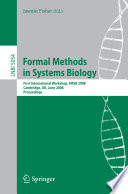 Formal Methods In Systems Biology book