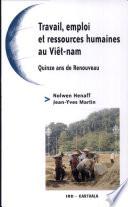 Travail, emploi et ressources humaines au Viêt-nam