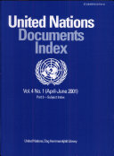 United Nations Documents Index