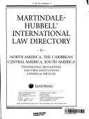 International Law Directory 2007