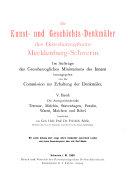 Bd. Die Amtsgerichtsbezirke Teterow, Malchin, Stavenhagen, Penzlin, Waren, Malchow und Röbel