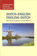 Dutch-English, English-Dutch Dictionary