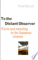 Ebook To the Distant Observer Epub Noël Burch Apps Read Mobile