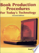 Book Production Procedures For Today S Technology
