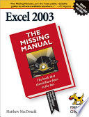 Excel 2003: The Missing Manual
