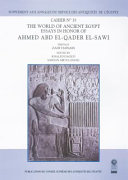 Supplément aux Annales du Service des antiquités de l'Égypte