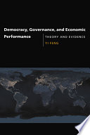 Democracy  Governance  and Economic Performance