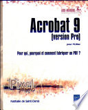 Acrobat 9  version Pro  pour PC Mac