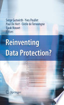 Reinventing Data Protection