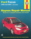 Haynes Ford Focus 2000 and 2001