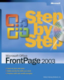 Microsoft Office Frontpage 2003 step by step