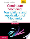 Continuum Mechanics  Volume 1