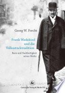 Frank Wedekind und die Volksstücktradition