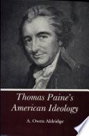 Thomas Paine s American Ideology