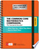 The Common Core Mathematics Companion The Standards Decoded Grades 6 8