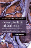 Communication Rights and Social Justice
