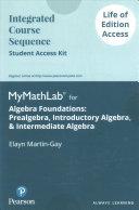 Algebra Foundations Life of Edition Access Code